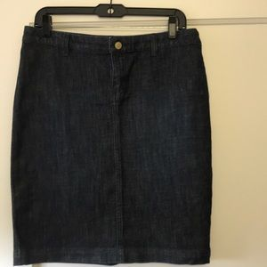 New WO Tags Lilly Pulitzer Denim Skirt
